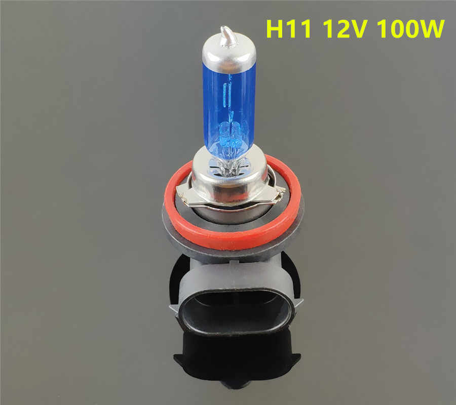 Halogen Bulb Car Fog Lights Super White - H11 H7 H4 H3 H1 H8 HB3 HB4 9005 9006 880 881 55W 100W 12V Headlights Lamp 5000K