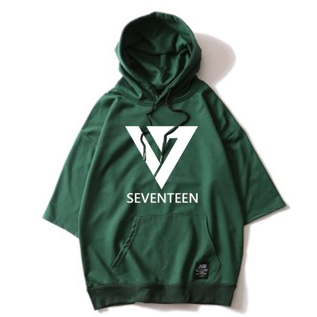 SEVENTEEN Three Quarter Sleeves Sweatshirts