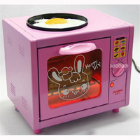 MSL 1028 Hot Selling Oven Electric Mini Oven with Timer Breakfast 12.5L Mini Family Multi Function Furnace Oven 220V/50 Hz pink