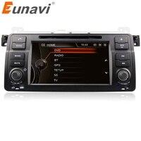 Eunavi 7 HD Touch Screen single 1 din Car DVD Player GPS Navigation for BMW E46 3 Series M3 Bluetooth Radio USB IPOD Free Map