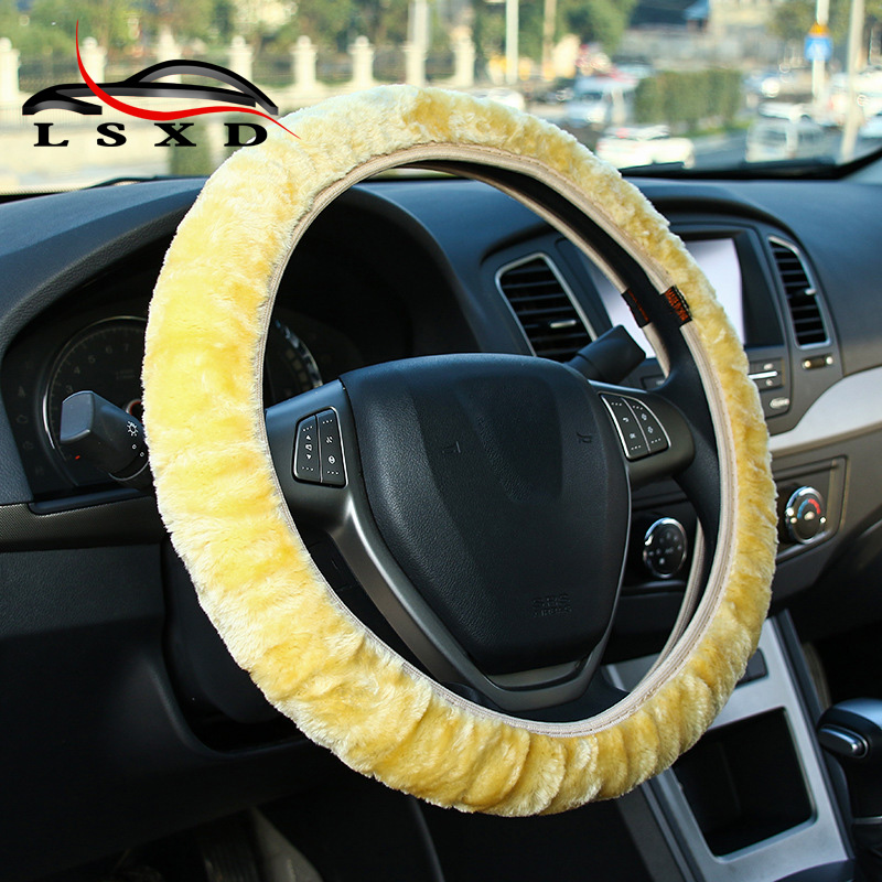 Car Accessories Winter Scirocco Steering Wheel Cover 38cm for Toyota Trd Camry Rav4 Coro ...