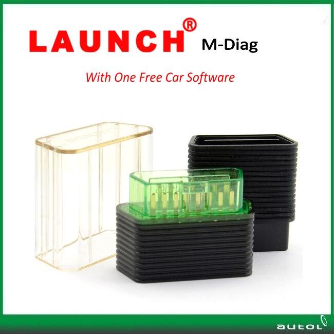 Цена за Супер функция оригинал Запуск М-Diag Lite Плюс для iOS Android с Одной Свободной Автомобиля MDiag Lite бесплатная доставка