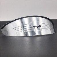 Motorcycle Accessories 7 Headlight Visor For Yamaha Road Royal V Star Virago Honda Cruisers BLACK