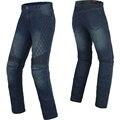 BENKIA Men Women Motorcycle Pants Motocross Racing Denim Pants Protective Riding Jeans Unisex Pantalon Motocross