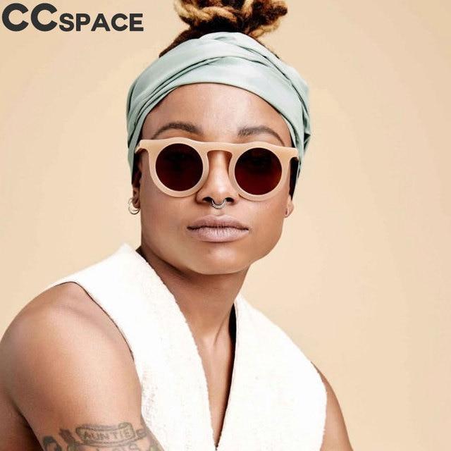 45588 Retro Putaran Sunglasses Pria Wanita Cat Eye Shades CCSPACE Vintage  2018 Kacamata Merek Fashion Designer dde4fbcdb3