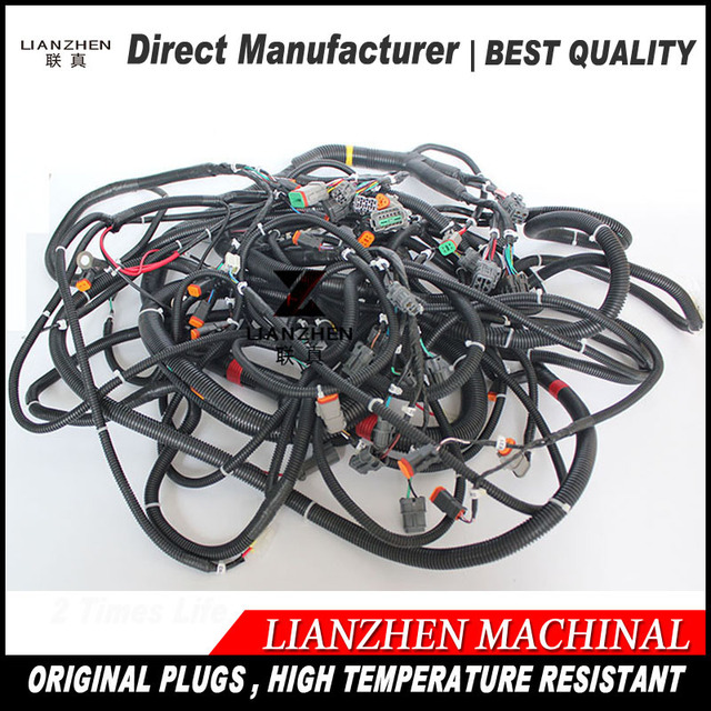 Excavator sapre replacements electric parts PC300 7 new series outer cabin komatsu wiring harness 207 06_640x640 excavator sapre replacements electric parts pc300 7 new series outer
