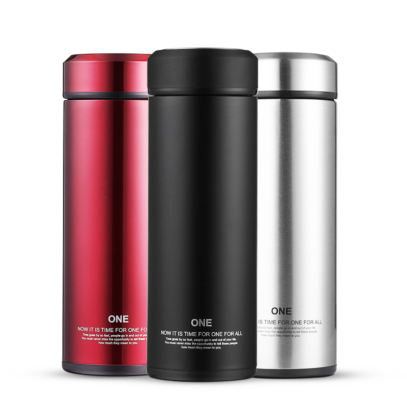 Double Walled Thermos Bottle Glass Liner Thermo Cup Insulated Thermal Flask Vacuum Flask Coffee Mug Thermal Drink Mug For Tea