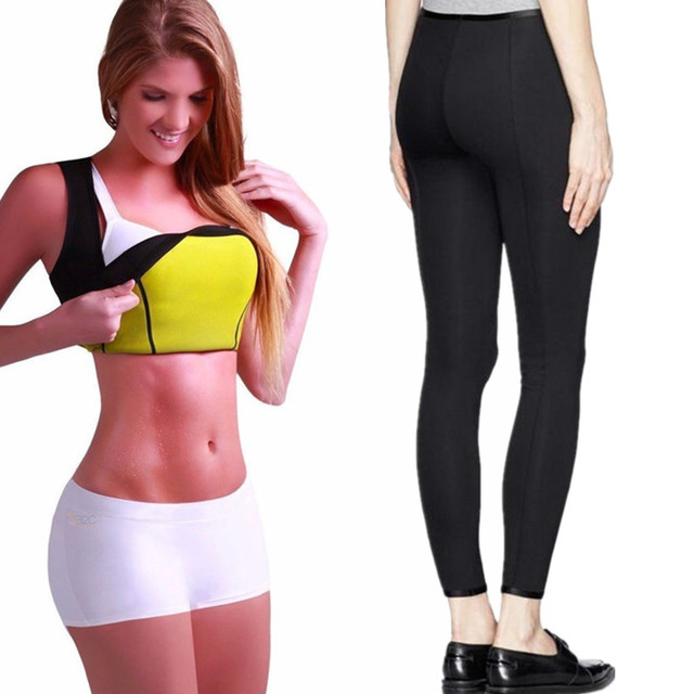 05c5244932903 US $11.35 39% OFF Plus Size Women Yoga Set Gym Fitness Clothes Slimming  Shirt+Pants Running Tights Jogging Workout Yoga Leggings Trainer Sport  Set-in ...