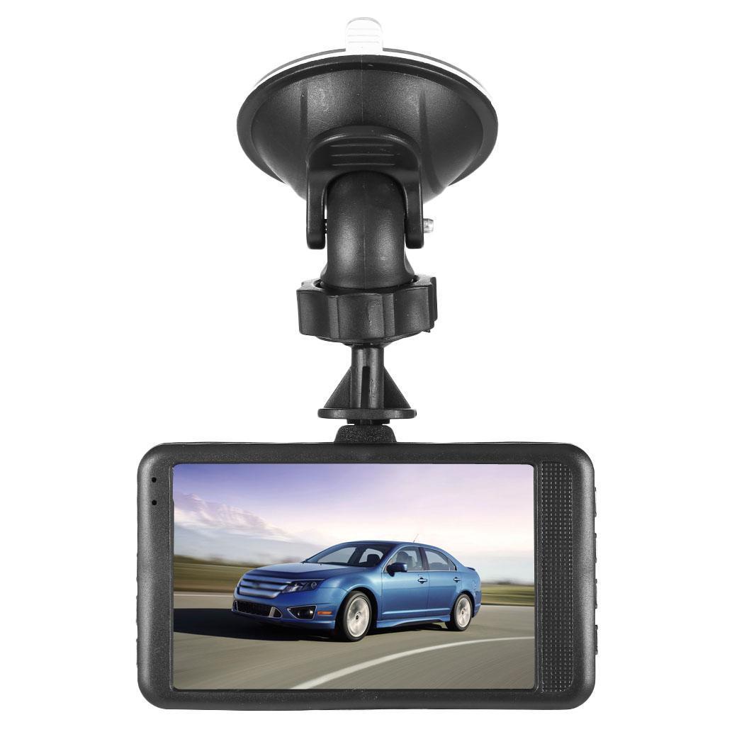 WOOKRAYS Dash Cámara 3 pulgadas pantalla 1080 p HD coche DVR USB/HDMI 140 grados de amplio ángulo de conducción portátil auto Dash Cam