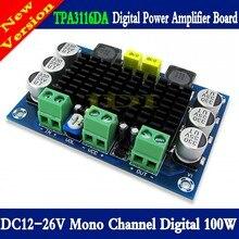 TPA3116 D2 Mono 100W placa amplificadora de Audio Digital DC12 26V