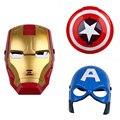 Súper Héroe Alianza Vengador Capitán América Shield Casco de Acción para Los Niños