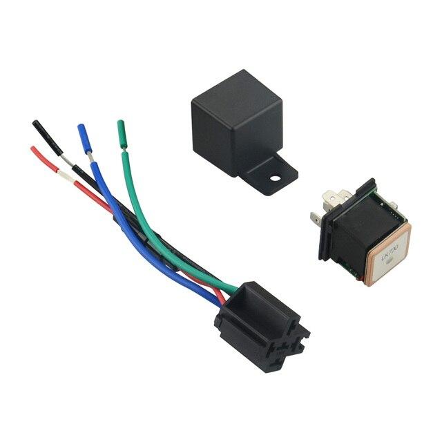 US $25 02 20% OFF|Relay GPS Tracker LK720 Hidden Design Car GPS Locator Cut  Off Fuel GSM GPS Car Tracker Google Map Realtime Track Shock Alarm-in GPS