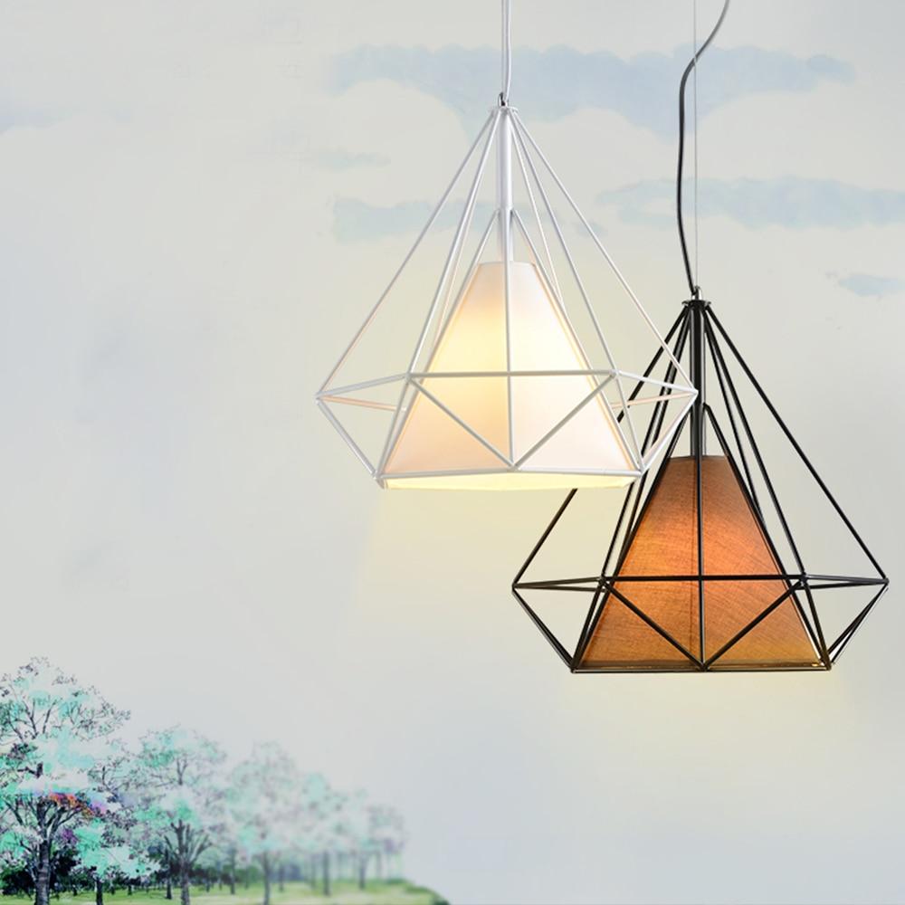 LED colgante luz Nordic Europa estilo retro comedor 25 cm comedor Sala toggery tienda de ropa bar 1 cabezas