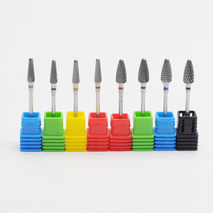 Dental Burs Tungsten Carbide Nail Drill Bits Machine Nail Cutter File Manicure Nail Drill Accessiores(China)