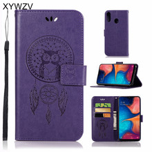 For Samsung Galaxy A20e Case Flip Wallet Silicone Phone Card Holder Fundas Cover A20E