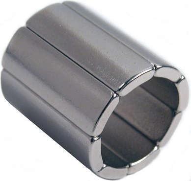 1 упаковка класс N45H неодимовый Магнит дуги OD36xID28x45deg.мотор х20 мм магнит для генераторов ветровой турбины неодимовый постоянный Магнит