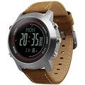 Relojes de pulsera digitales deportivos CAINO para hombre, brújula, altímetro, banda de cuero, relojes al aire libre, reloj, reloj Masculino
