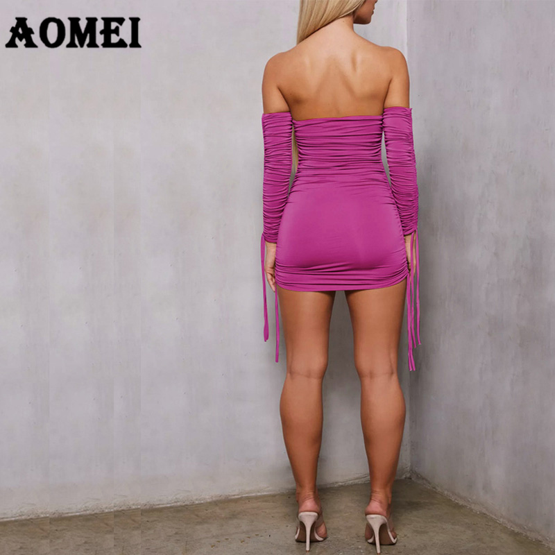 Women Tube top Dress Sexy Party Dress Black Bodycon Backless Off Shoulder  Elastic Slim Clubwear Bandage Plus Size Female Clothes-in Dresses from  Women s ... 3b6408fb81dd