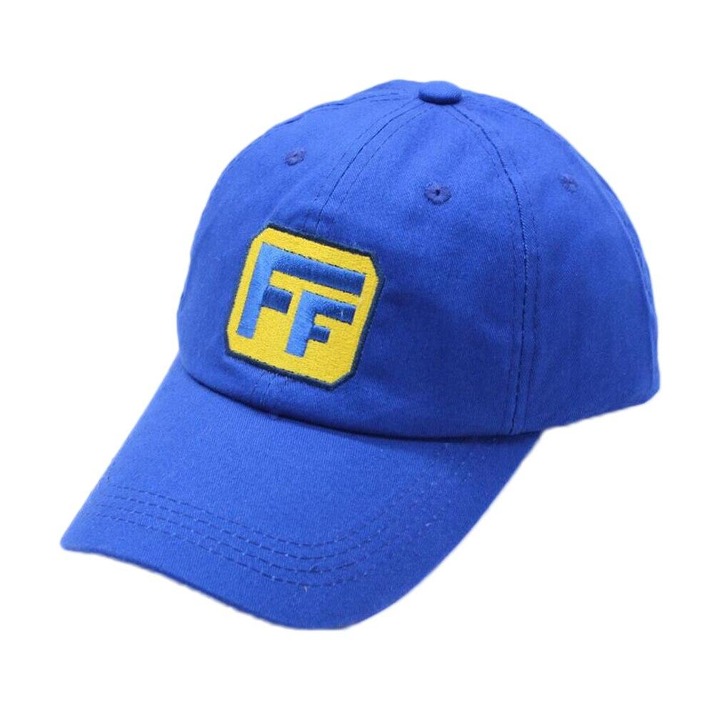 Fix It Felix Cosplay Hats Men Boy Blue Baseball Cap Ralph Halloween Party Costume Accessories Hip Hop Streetwear Christmas Gifts