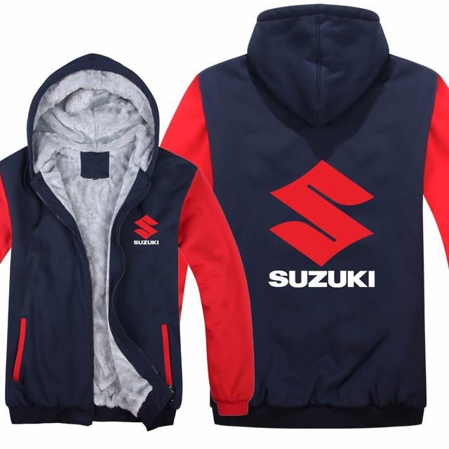 Suzuki Hooded Motorcycle Jacket