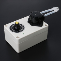 2018 High Quality New DC 12V Dosing Pump Speed Adjustable Peristaltic Pump For Aquarium Lab Water Dosing Pump good