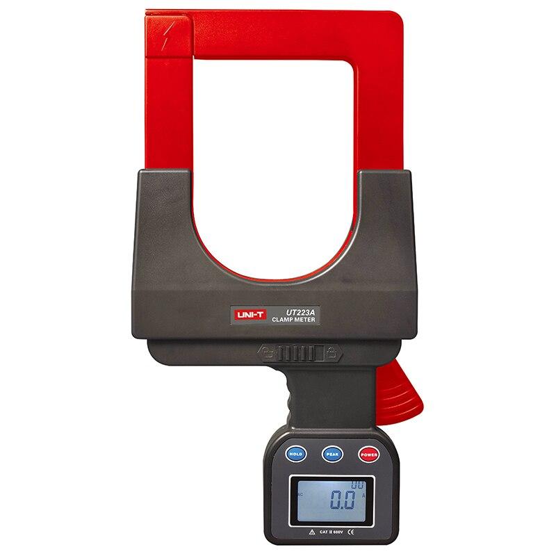 UNI-T UT223A grande caliber vazamento pinça amperímetro, 4000A AC clamp meter RS-232 armazenamento de dados de transmissão de dados LCD backlight