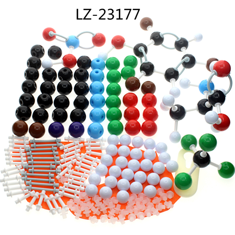 molecular model kit LZ-23177 chemistry organic molecule structure models set student and teacher estuches school free shipping molecular structure model set for chemistry teacher dls 23540 chemical crystal models inorganic organic molecules free shipping