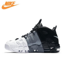 76100bf6ef10 Nike Air More Uptempo Tri-Color Men s Breathable Original New Arrival  Authentic Basketball Shoes Sports Sneakers 921948-002