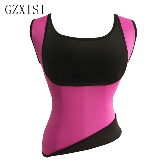 e0c37f58d8 GZXISI New Fashion Women Neoprene Shapewear Push Up Vest Waist Trainer  Tummy Belly Girdle Hot Body Shaper Waist Cincher Corset