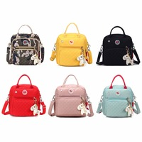 Fashion Multifunction Mummy Shoulder Bags Small Nylon Waterproof Backpacks Baby Nappy Diaper Bag Tote 2018 New THINKTHENDO