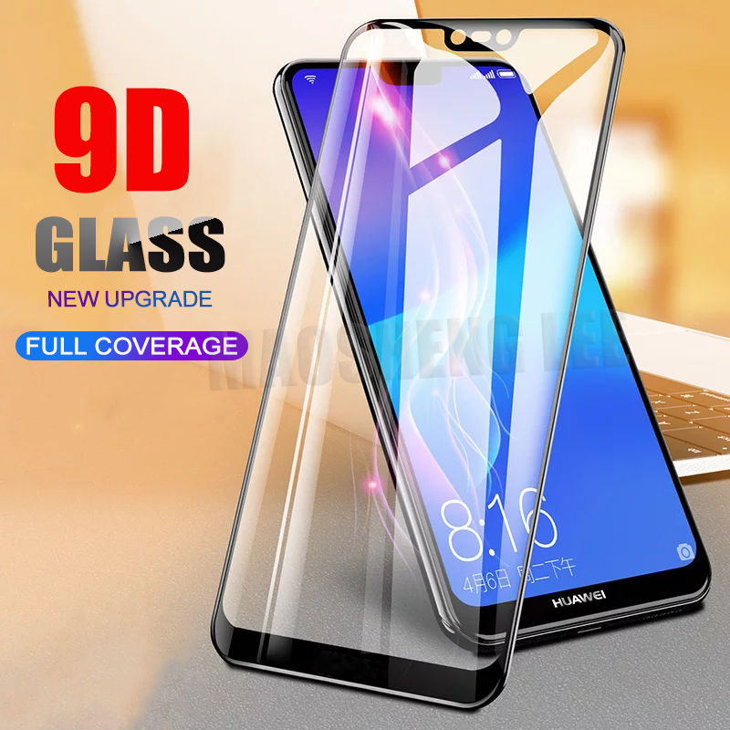 New 9D Tempered Glass For Huawei Nova 3 3i 3e Screen Protector Full Cover Tempered Glass For Huawei Nova 3 3i Glass Film