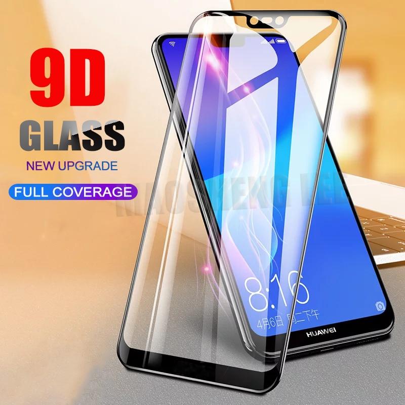 New 9D Tempered Glass For Huawei Nova 3 3i 3e Screen Protector Full Cover tempered glass For Huawei Nova 3 3i glass film