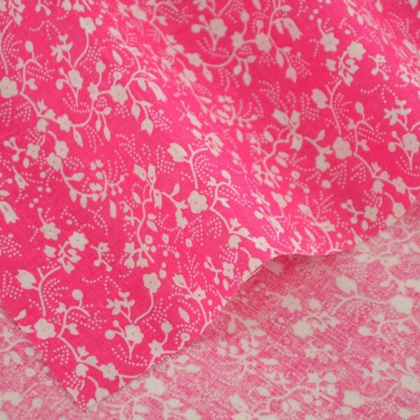 Ropa noticias lindo de las flores blancas diseños oscuro rosa textiles para el h