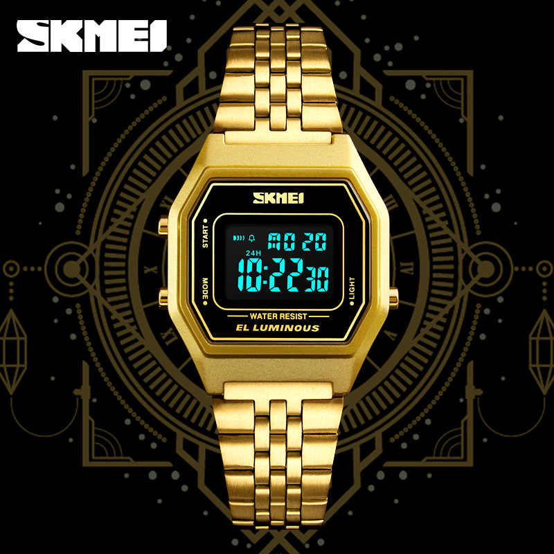 Marque SKMEI G numérique hommes montre de luxe choc hommes Sport montre-bracelet mode chronomètre montres électroniques pour hommes réveil