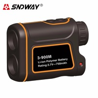 SNDWAY Telescope Rangefinders Distance Meter Digital 8X 900M 1200M 1500M Monocular Hunting Measure Advanced