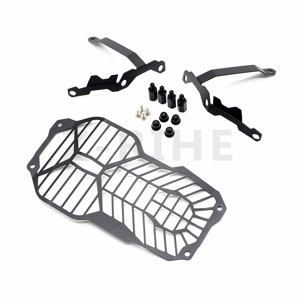 For BMW R1200GS Headlight Grille Guard Cover Protector For BMW R 1200 GS ADV Adventure (Water Cooled) 2012 2013 2014 2015 2016 motorbike headlight cover protector for bmw r1200gs adv lc 2013 2016 2015 2014