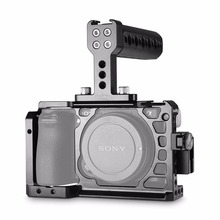 SmallRig Dslr Digital camera Rig Cage Accent Package for Sony A6500 with a Cage and a Prime Deal with and a HDMI Cable Clamp – 1968