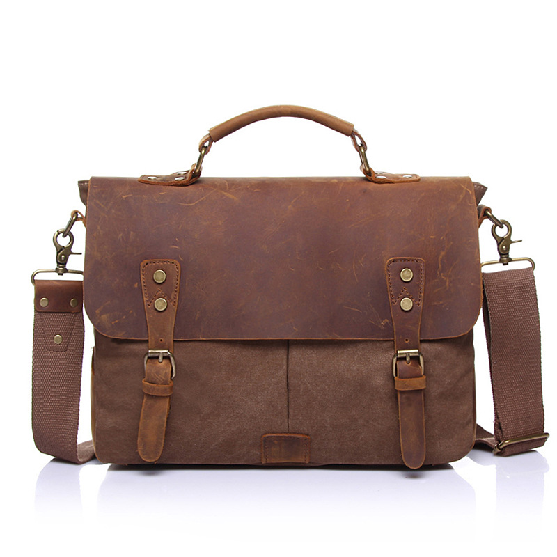 Men Messenger Bag High Quality Canvas Vintage Handbag Shoulder Bag For Men Casual Crossbody Travel Bags bolsa masculina