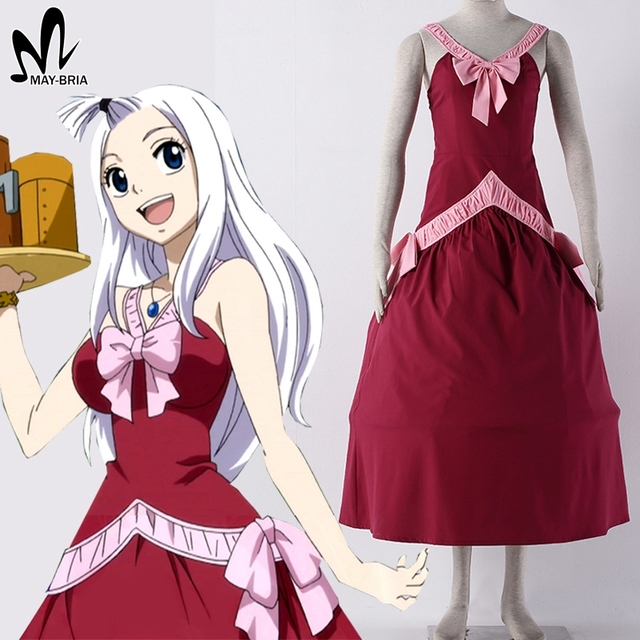 Hot anime fairy tail mirajane strauss cosplay costume - Fairy tail mirajane hot ...
