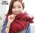 2015 настоящее bufandas зимний шарф новая корейская версия приток женщин и осенью шерсть теплый оптовая женской Моды взрослый