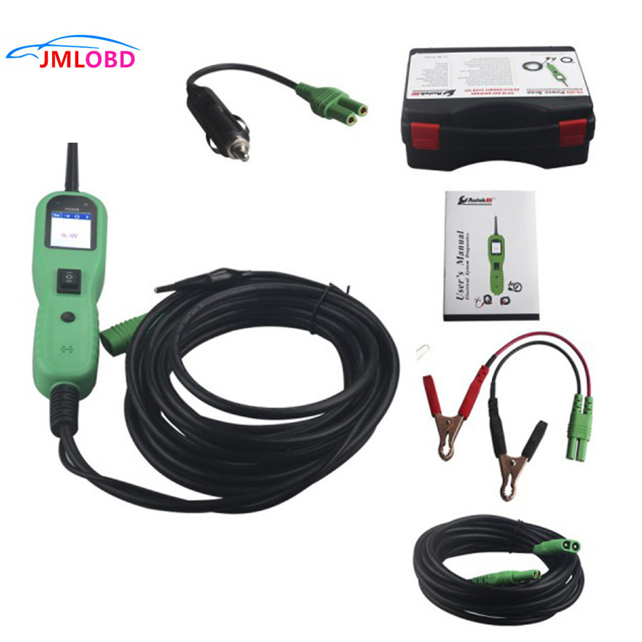 YD208 Car Electric Circuit Tester Automotive Tools Auto 12V Voltage Power Probe Same as PT150 Electrical System Tester Car tools стоимость
