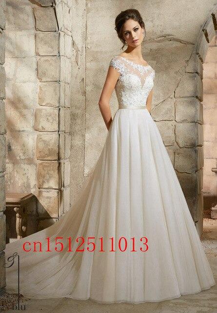 2016 Sexy einfache robe de mariage Hochzeit Boho Kleider Plus Size ...