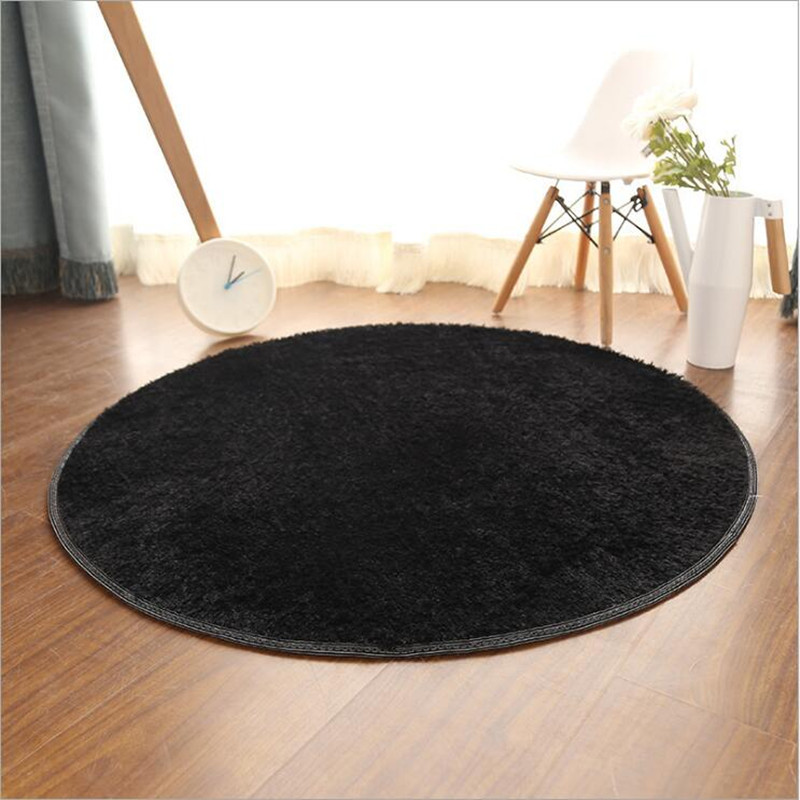 Round Pink Carpets 4 5cm Thicken Custom