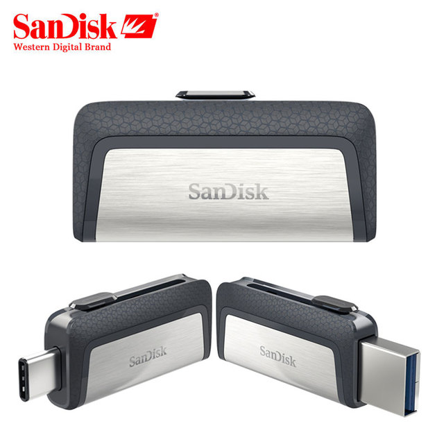 244e24307 SanDisk Ultra Dual Drive USB Type-C 128GB USB 3.1 Flash Drive 64GB Mini USB