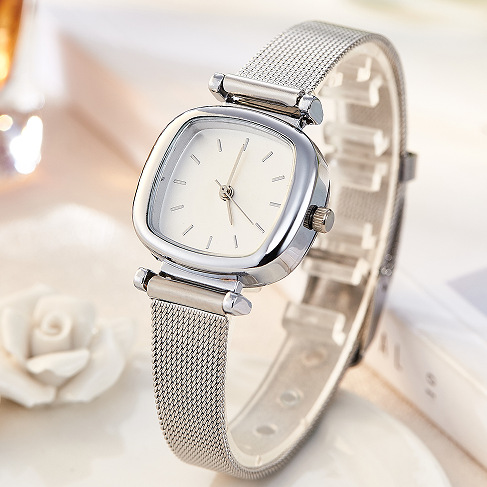 Jw Watches Women Top Brand Luxury Silver Quartz Watch Stainless Steel Jewelry Bracelet Watches Ladies Clock Relojes Mujer Gifts top kimio brand relojes mujer ladies watches luxury women dress stainless steel bracelet quartz watches relogio feminino clock