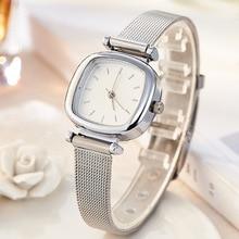 Jw Watches Women Top Brand Luxury Silver Quartz Watch Stainl