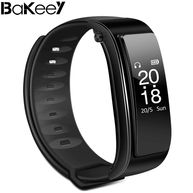 Bakeey Y3 Bluetooth Headset Heart Rate Sleep Monitor Fitness Tracker Smart Wristband Support