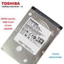 Original Toshiba 500GB Hard Drive Disk MQ01ACF050 SATA High