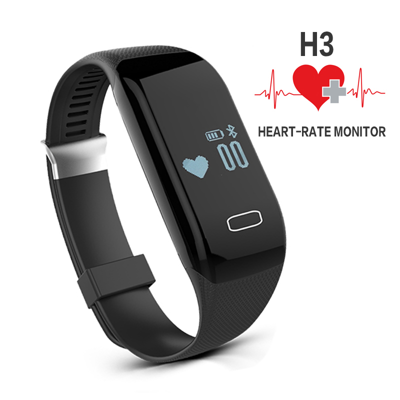 Aliexpress Com Buy Pedometer Bracelet Heart Rate Monitor
