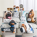 The Secret Life of Pets LPS Little Pet Shop Appease Baby Pillow Baby Calm Doll Toys Kid Portable Baby Sleep Bed Car Seat Cushion
